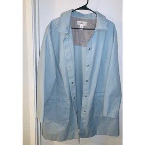 Women's powder blue coat